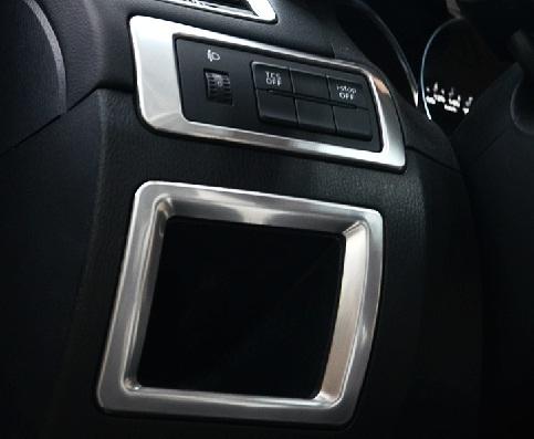 Накладки на приборную панель для Mazda CX-5 (2011 - 2017)