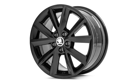 Диск колесный R16 Antia (черный) 5JA071496CFL8 для Skoda Rapid 2020 - колесный диск r16 52910f2200 для hyundai elantra 2016