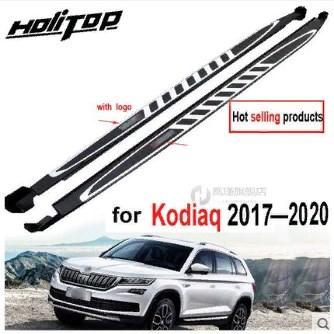 Накладки на пороги Skoda Kodiaq 2017- недорого