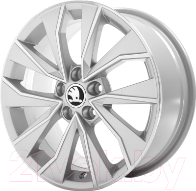 Диск колесный R16 Italia (серебро) 6V0071496B8Z8 для Skoda Rapid 2020 - колесный диск r16 52910f2200 для hyundai elantra 2016