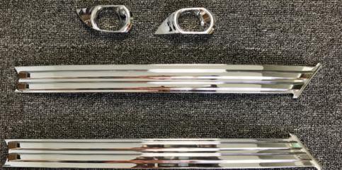 Хромированные накладки на противотуманные фары CHN для Mazda CX-5 2017 - хромированные накладки на противотуманные фары chn 37487 для skoda kodiaq 2017 по н в
