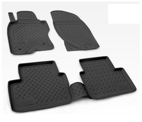 Коврики в салон Норпласт полиуретан черный NPA11C61812 Nissan X-Trail (3G) T32 2013-