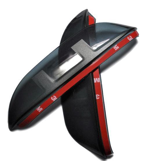 Козырьки на боковые зеркала для Skoda Rapid 2012 -
