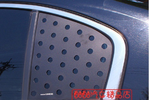 Накладки на задние форточки для Hyundai Genesis DH (2014 - 2017) недорого