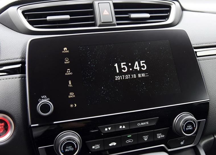 Защитная пленка (прозрачная) на навигатор 5 дюймов для Honda C-RV 2017-