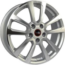 Диск колесный LegeArtis Реплика NS123 6.5xR16 5x114.3 ET40 ЦО66.1 серебристый с полированной лицевой частью 9141276