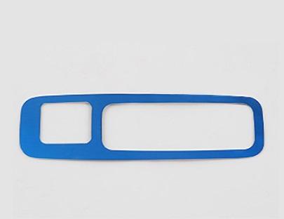 Фото - Накладка на ручку багажника (с кнопкой, синяя) Honda CRV 2020- накладка на порог багажника для honda crv 2017