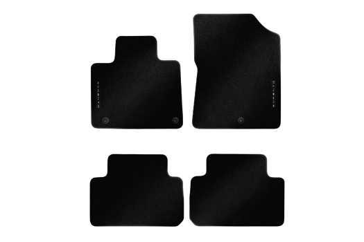Коврики в салон Hyundai/Kia велюр черный P2143ADE10 Kia Sorento (4G) 2020- коврики в салон hyundai kia велюр черный a2143ade00st kia ceed 3g 2018