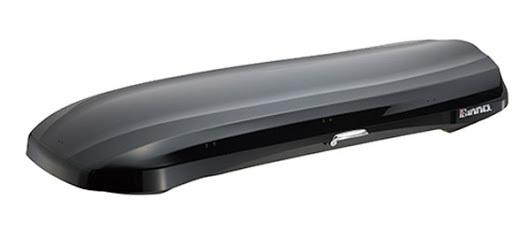 Автомобильный бокс Inno Wedge 660 черный глянцевый