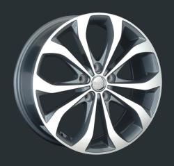 Диск колесный LS Replay HND135 7xR17 5x114.3 ET35 ЦО67.1 серый глянцевый с полированной лицевой частью S029652