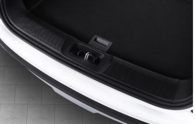 Фото - Накладка внутренняя на порог багажника для Changan CS35 Plus 2019- коврик для багажника черный с красным 2 элемента для changan cs35 plus 2019