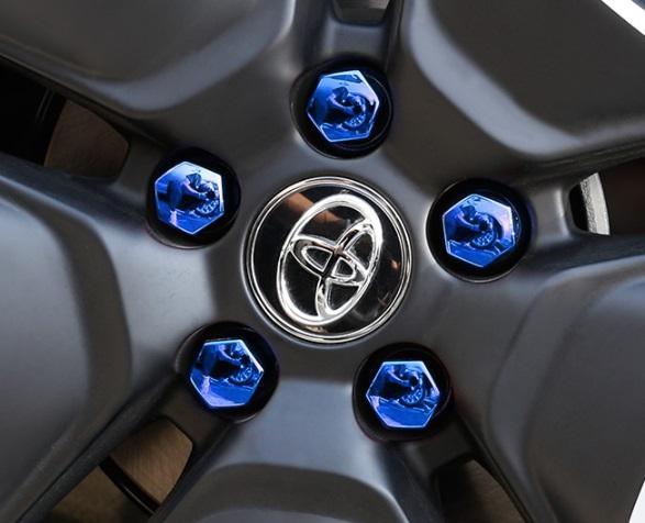Колпаки синие Toyota RAV4 2019-