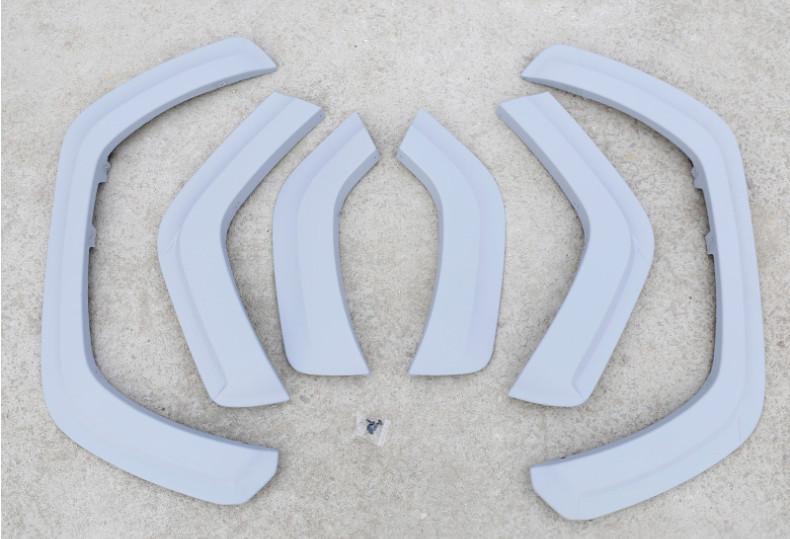Накладки на колесные арки GPPOWER CHN для Toyota RAV4 new (Тойота РАВ4) 2019 + накладки на дверные пороги полированные chn для toyota rav4 new тойота рав4 2019