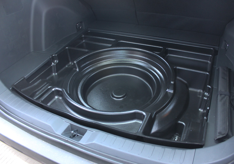 Органайзер в багажник CHN для Toyota RAV4 new (Тойота РАВ4) 2019 + сетка в багажник вертикальная toyota pz472 q0341 za для toyota rav4 new тойота рав4 2019