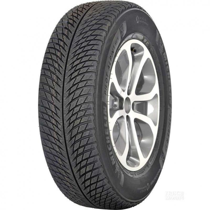 Шина автомобильная Michelin Pilot Alpin 5 SUV 265/55 R19, зимняя, 113H шина michelin alpin a4 185 55 r15 82t