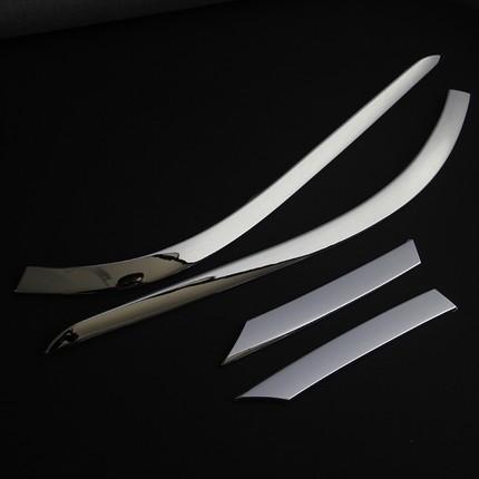 Хромированные накладки на задние фонари QL для KIA Sportage IV 2016 -