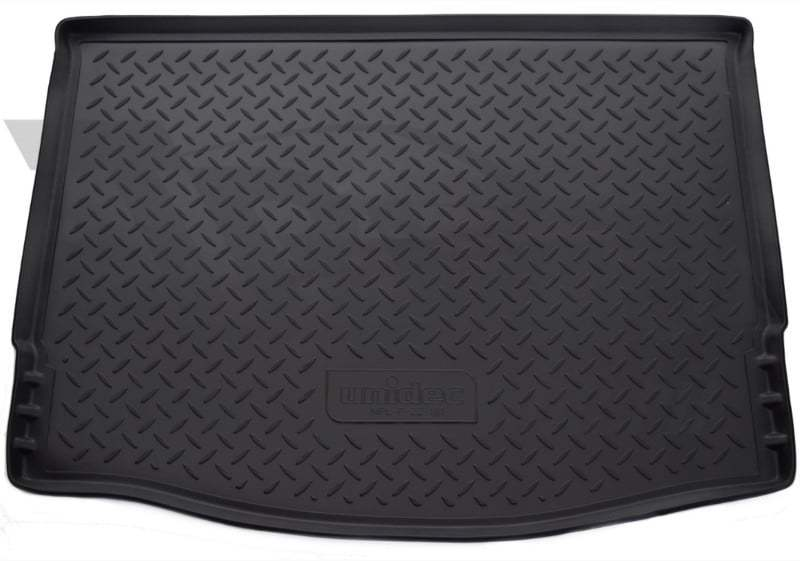 Коврик багажника (полиуретан), чёрный (HB) Norplast NPL-P-22-181 для Ford Focus III 2011 - 2015 коврик багажника rival для ford focus iii седан 2011 2019 полиуретан 11801004