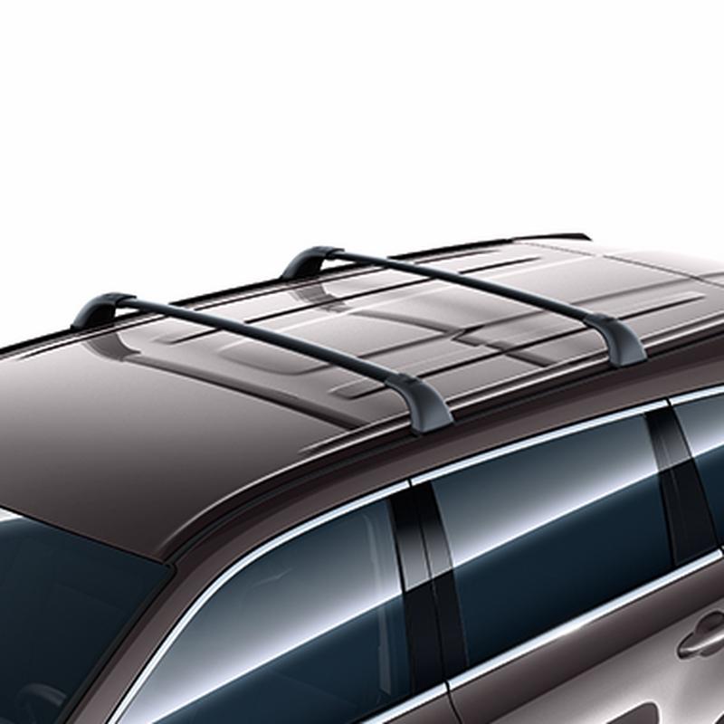 Поперечины багажника для авто без рейлингов Original Style Toyota Highlander (2014 - 2017)
