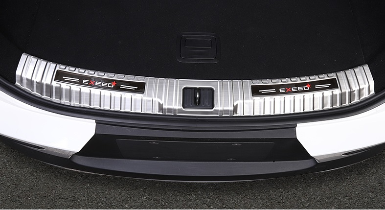 Накладка на порог багажника CHERYEXEED TXL 2020-