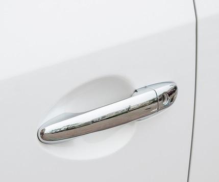Накладки на дверные ручки для Mazda CX-5 2017 - 5 дверные