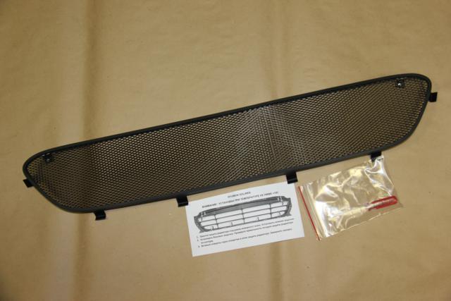 Защита радиатора, черная для Hyundai Creta