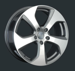 Диск колесный LS Replay VV150 7xR17 5x112 ET43 ЦО57.1 серый глянцевый с полированной лицевой частью S025029