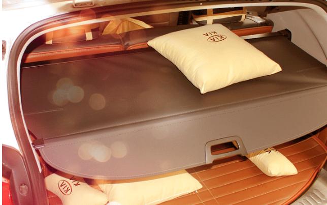 Шторка в багажник ( лого и без лого) для Kia Sportage III 2010-2015