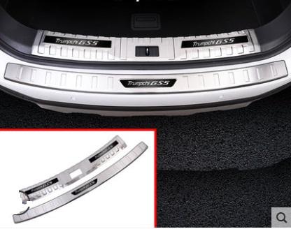 Фото - Накладки на порог багажника для GAC Trumpchi GS5 2020- цифровой спидометр проекция на лобовое стекло chn для gac trumpchi gs8 2018 2019 2020