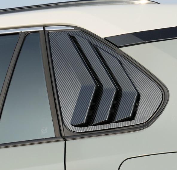 Накладки на задние стекла Toyota RAV4 2019-