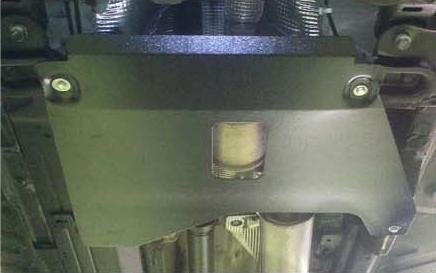 Защита кислородного датчика и катализатора ALFECO для Renault Kaptur 4WD