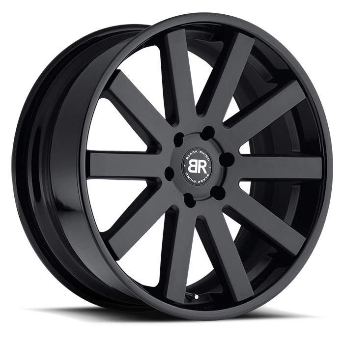 Диск колесный Black Rhino Savannah 10xR24 5x150 ET30 ЦО110,1 черный матовый 2410SAV305150M10 недорого