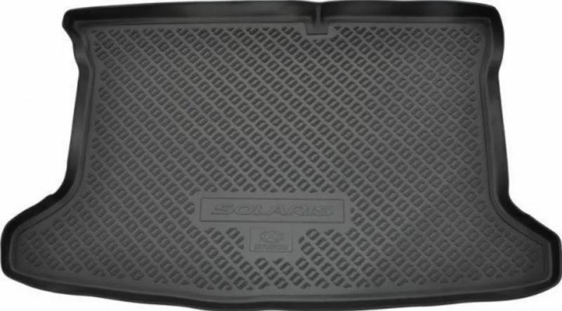 Коврик багажника Hyundai Solaris (Хендай Солярис) 2020-