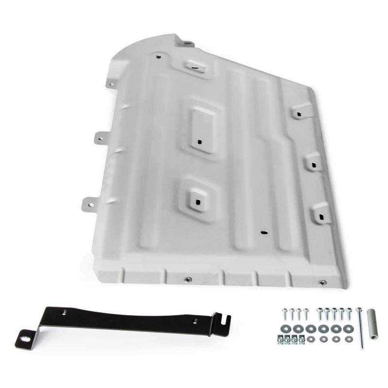Защита КПП и раздаточной коробки (алюминий, толщина 4 мм) Rival 333.0532.1 для BMW X3 (3G) G01 2017 -