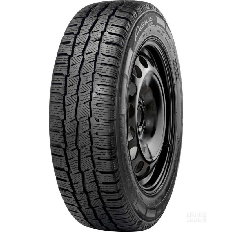 Шина автомобильная Michelin AGILIS ALPIN 195/70 R15, зимняя, нешипованная, 104/102T летние шины michelin 195 65 r16c 104 102r agilis