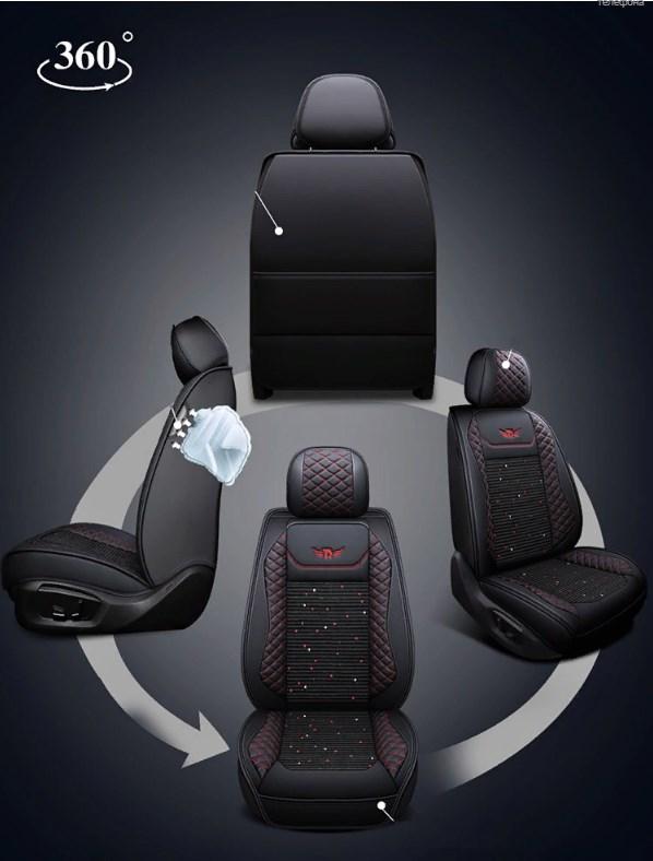 Накидки на передний ряд сидений Skoda Kodiaq 2017-