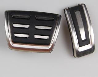 Накладки на педали алюминиевые для SuperB 2016-