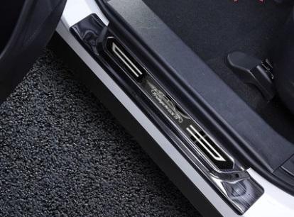 Фото - Накладка на порог для GAC Trumpchi GS5 2020- накладки на внешние дверные ручки для gac trumpchi gs8 2018 2019 2020