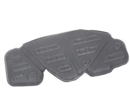 Защита топливного бака (пластик) CHN для Geely Atlas 2018 - защита топливного бака комплект крепежа rival сталь v 2 0 2 4 для geely atlas 2018