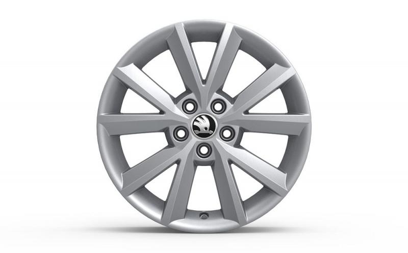 Диск колесный R16 Antia (серебристый) 5JA0714968Z8 для Skoda Rapid 2020 - колесный диск r16 52910f2200 для hyundai elantra 2016
