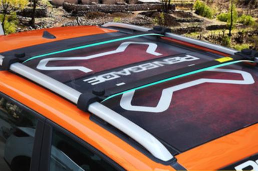 Багажные дуги, поперечины на крышу BLACK CHN для Jeep Renegade 2015, 2016, 2017, 2018, 2019