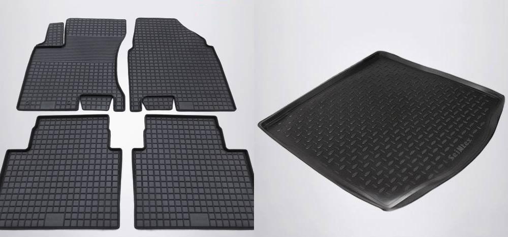 Коврики в салон Autoprofi полиуретан черный MAT300LBK Genesis G70 2017-