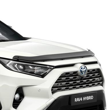 Дефлектор капота мухобойка для Toyota RAV4 ( Тойота РАВ4 ) 2019 -