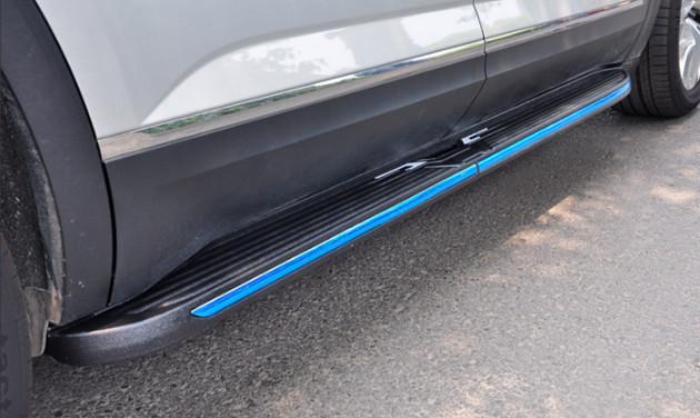автоматические боковые подножки пороги для volkswagen teramont 2017 Пороги боковые подножки FS для Volkswagen Teramont