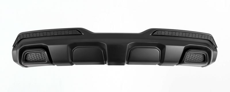 накладка на задний бампер с загибом нержавеющая сталь матовая original alu frost 50 5579 для renault koleos 2017 Накладка на задний бампер (без покраски) YurolTuning XR-01.02.00 Lada Xray 2016 -