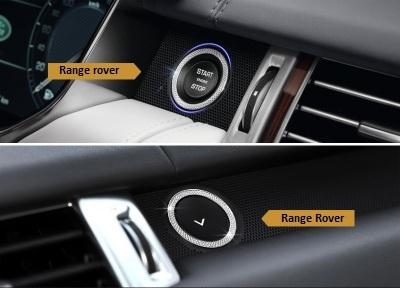 Декоративное кольцо на кнопку запуска двигателя для Range Rover 2014 - модуль дистанционного запуска двигателя intro can asb2
