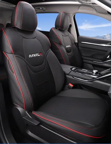 Чехлы на сидения (черные) Haval H6 2021-