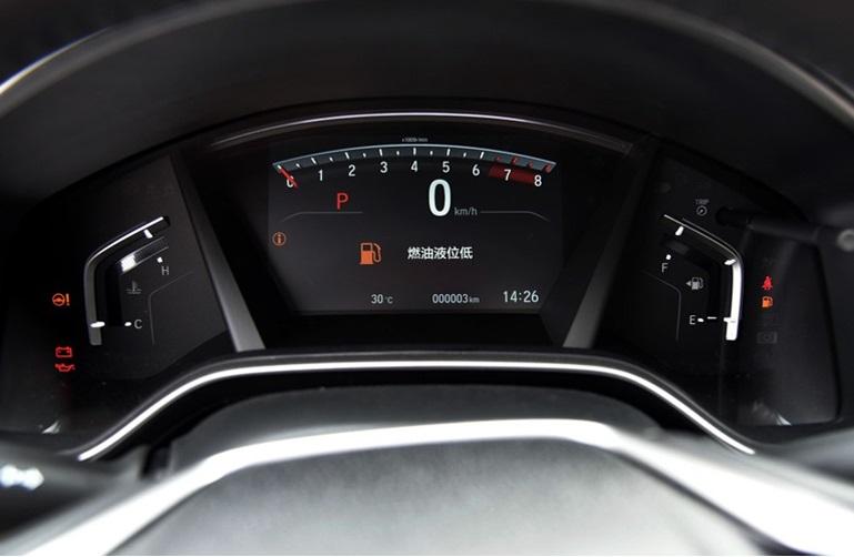Защитная пленка на спидометр для Honda C-RV 2017-