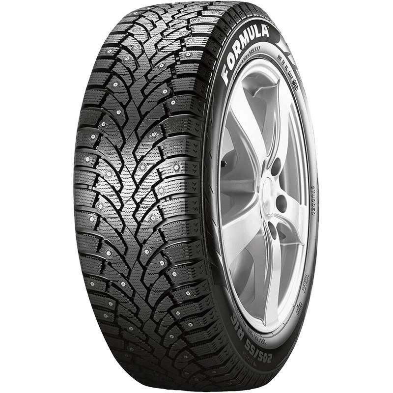 Шина автомобильная Formula F.Ice 195/65 R15, зимняя, шипованная, 104W автомобильная шина formula energy 195 55 r15 85v летняя