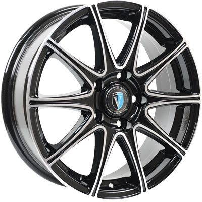Диск колесный Venti 1 716 7xR17 5x112 ET45 ЦО57,1 черный с полированной лицевой частью rd832975
