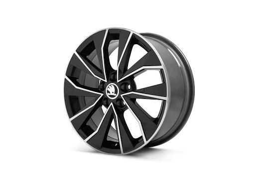 Диск колесный R16 Italia (черный) 6V0071496FL8 для Skoda Rapid 2020 - колесный диск r16 52910f2200 для hyundai elantra 2016